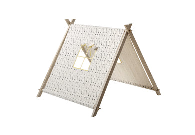 TENT ARROW  WHITE BLACK