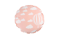Load image into Gallery viewer, CUSHION COVER ROUND CLOUD PINK  WHITE