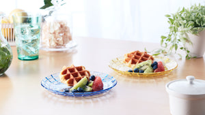 "7 3/4"" Unbreakable Premium Plates - Set of 6 - Tritan Plastic - BPA Free - 100% Made in Japan (Assorted Colors) - UPC:641945603552"