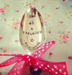 Personalised Desset/Soup Spoon