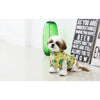 Avocado Zip Up Dog Jersey Yellow