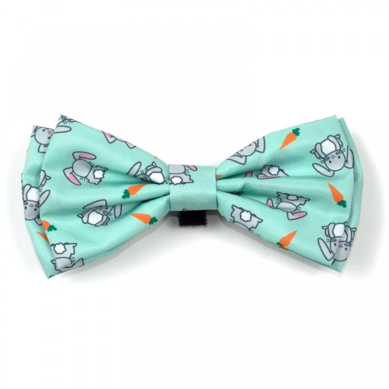 Bunnies Dog Bow Tie