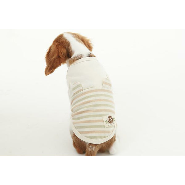 Organic Sleeveless Dog Tshirt