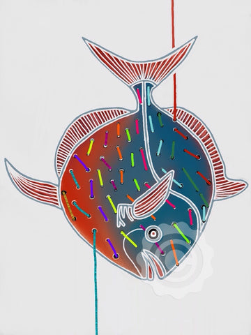 Moonfish - Adrian Grainger -  Modern Contemporary Artist