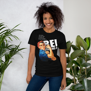 Be Strong Rosie Fashion Fit T-Shirt with Tear Away Label