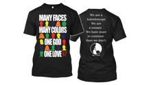 Load image into Gallery viewer, Many Faces Premium Tee