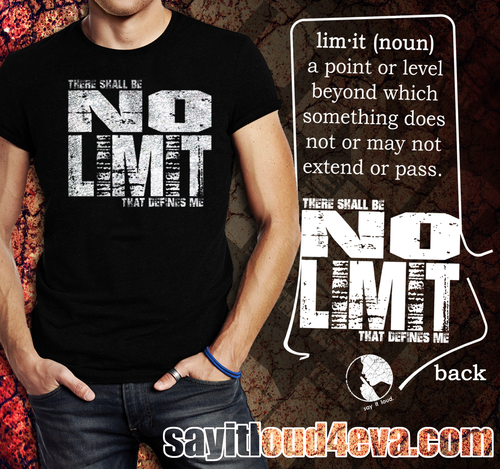 No Limit Short-Sleeve Unisex T-Shirt