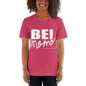 Mother's Day Short Sleeve Jersey T-Shirt with Tear Away Label