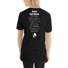 Load image into Gallery viewer, Know Your Worth Unisex T-Shirt
