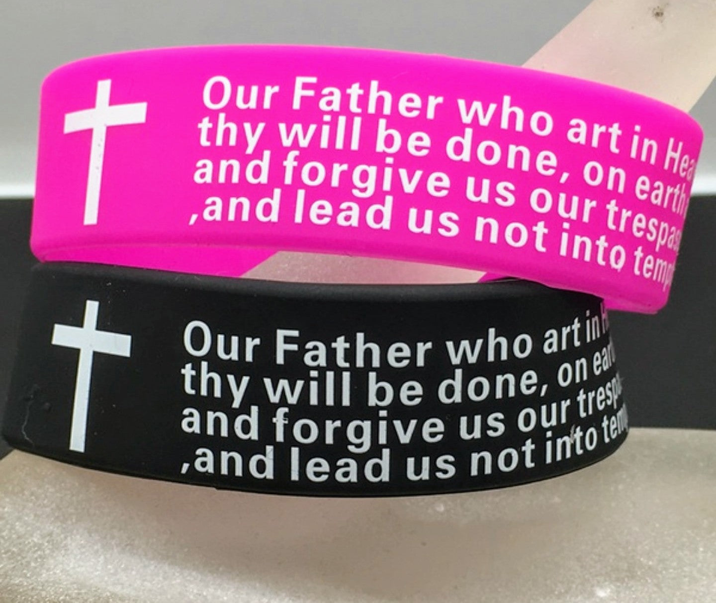 Prayer Silicone Wristbands