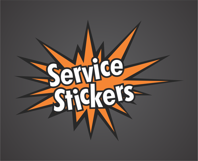 Best Selling Product - Service Stickers