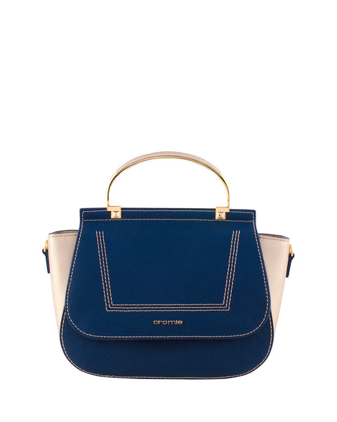 Marina Handbag <span>Navy/Gold</span>