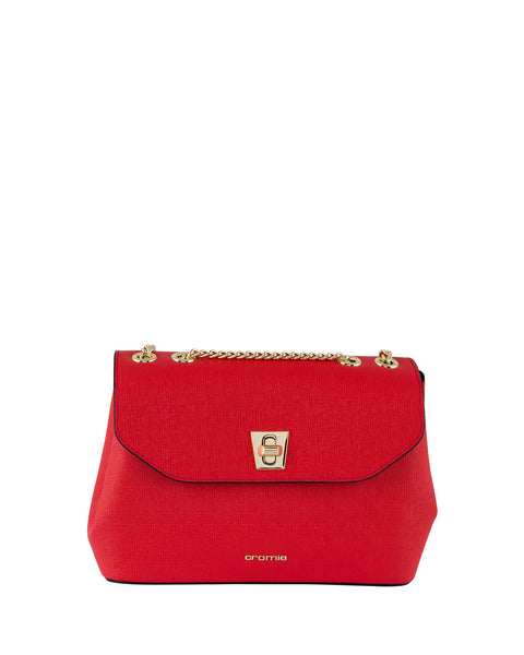 Mina Chain Strap Shoulder Bag <span>Red</span>