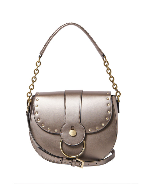 Allegra Shoulder Bag <span>Steel</span>