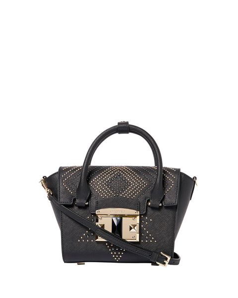 IT Punky Studded Handbag <span>Black</span>