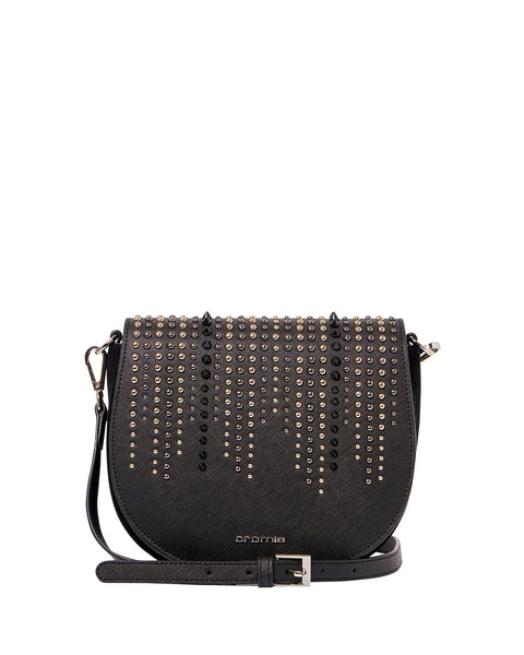 Perla Rock Crossbody Bag <span>Black</span>