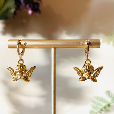 Baby Angel Earrings