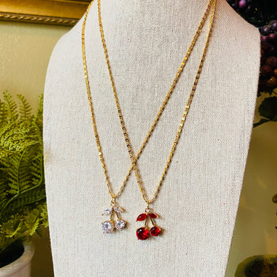 Stunning Cherry Scroll Necklace