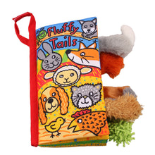 Fluffy Tails Texture Sensory Touch Book