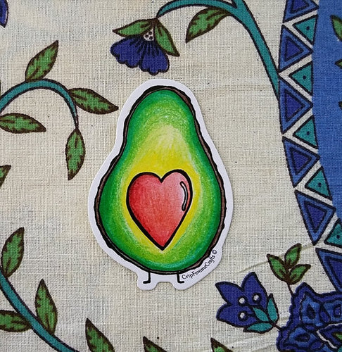 Avocado Love Sticker