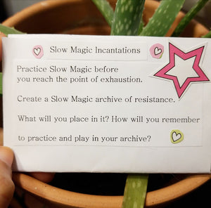 Slow Magic: Self-Healing Rebellion Zine