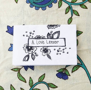 Love Letter Mental Health Zine!