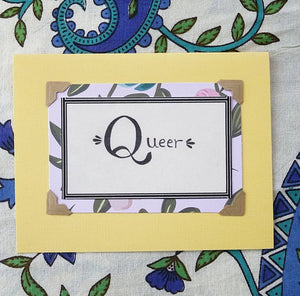 Queer Greeting Card