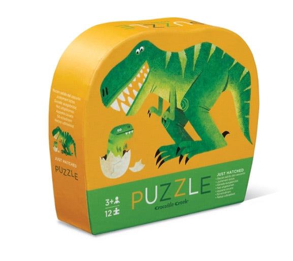 Tiger Tribe Crocodile Creek Mini Puzzle Just Hatched