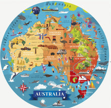 Load image into Gallery viewer, Sassi Travel Learn Explore Australia 205 Piece Puzzle & Book