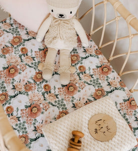Snuggle Hunny Kids Bassinet Sheet/Change Pad Cover