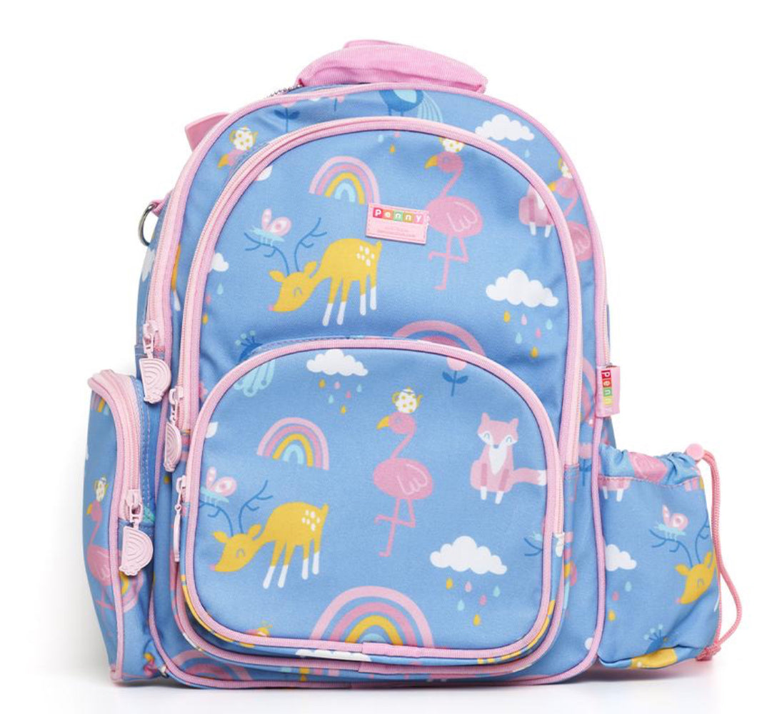 Penny Scallan Large Backpack Rainbow Days