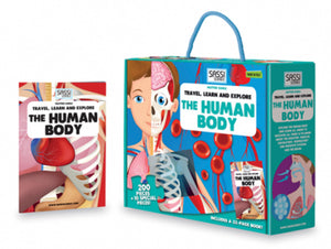 Sassi The Human Body 200 + Piece Puzzle and Book