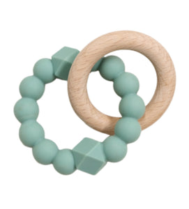 Jellystone Designs Moon Teether Sage