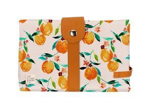The Somewhere Co Orange Blossom Change Mat