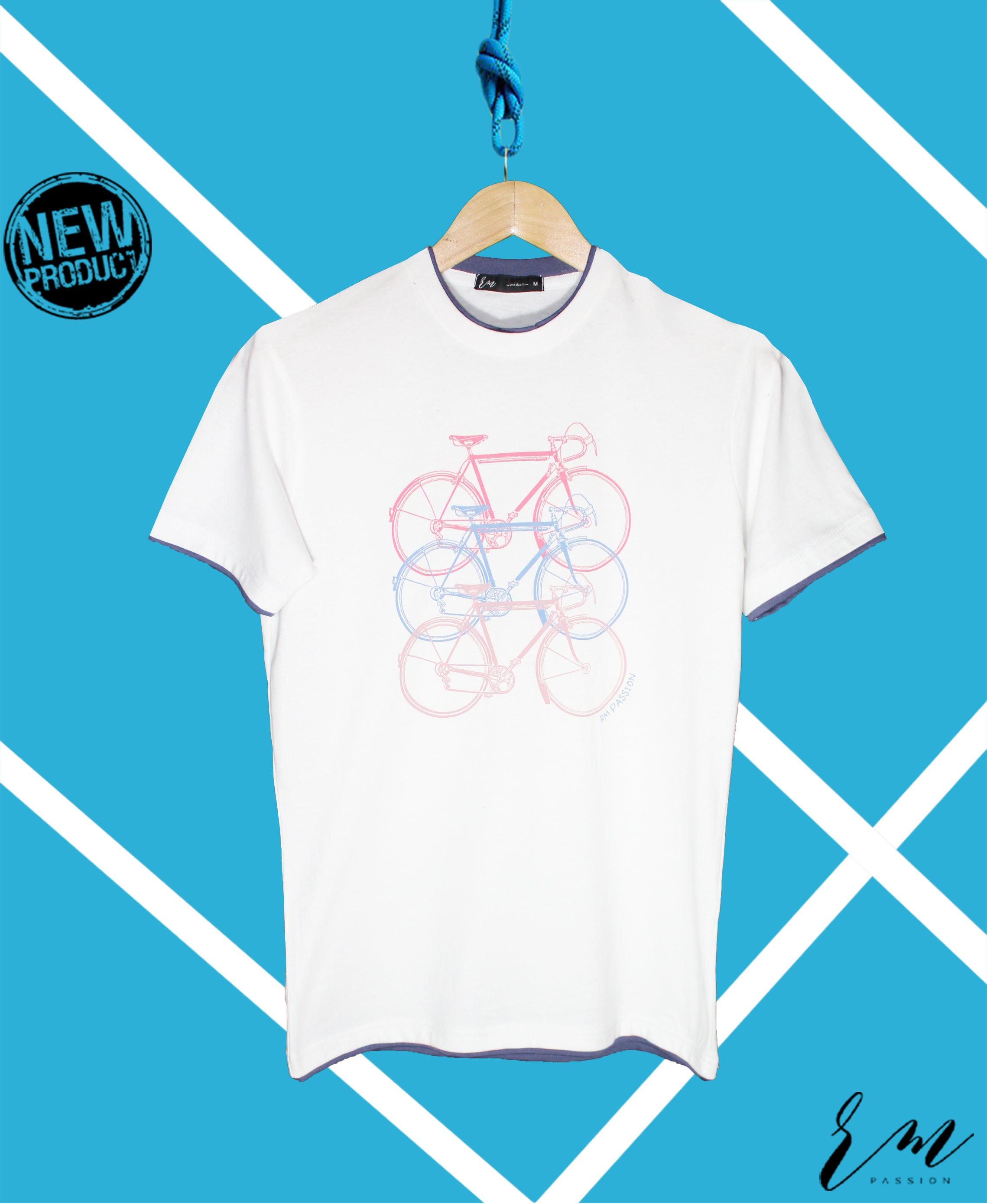 Men Graphic Tee (White)