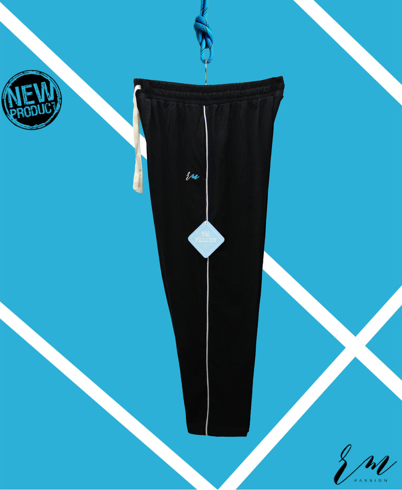Mens Relax Fit Trouser (Black)