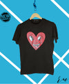 Men Graphic Tee (Black)