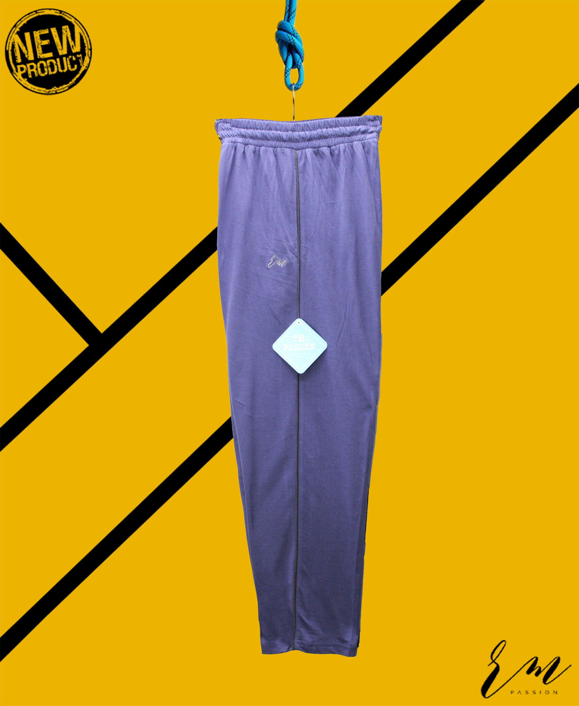 Mens Relax Fit Trouser (Navy)