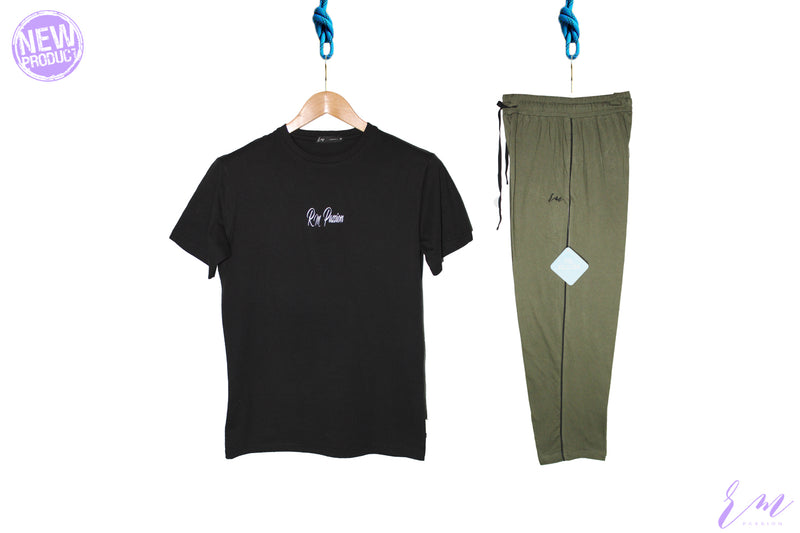Mens pack (Black / Green)
