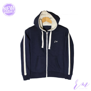 Zipper Hoodie ( W-19-02) ( Colors available)