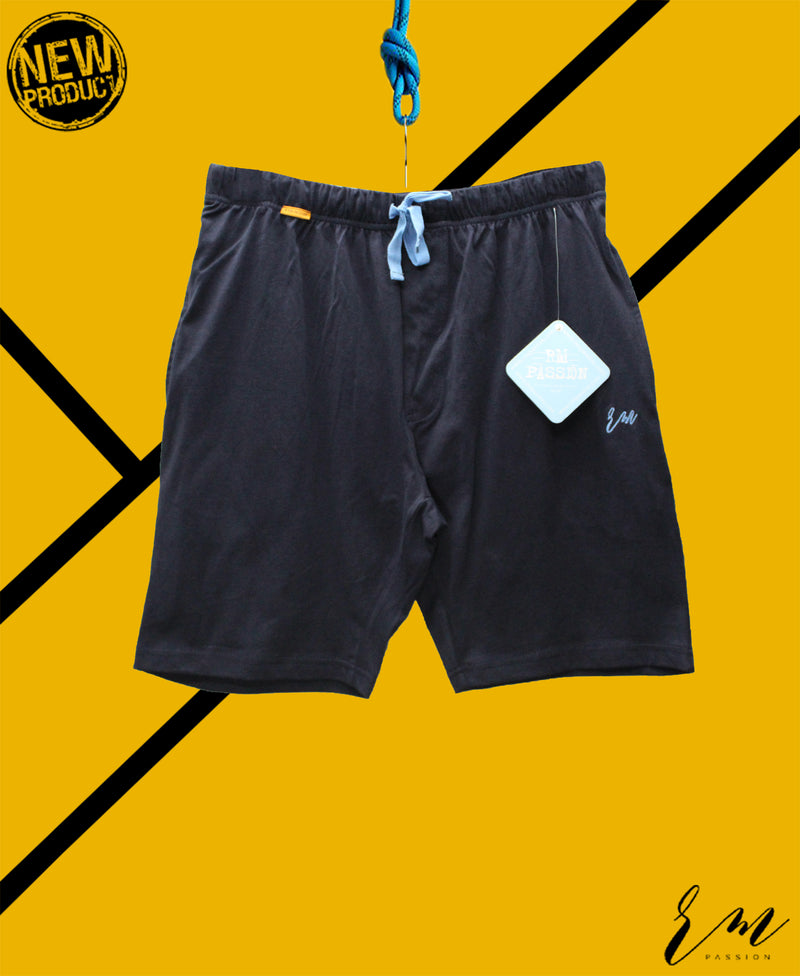 Men Relax Fit Shorts (Navy ii)