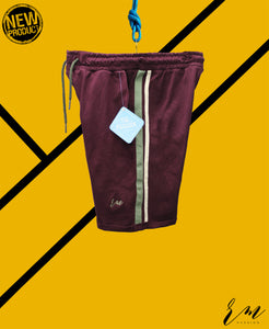 Men Slimfit Sports Shorts (Maroon)