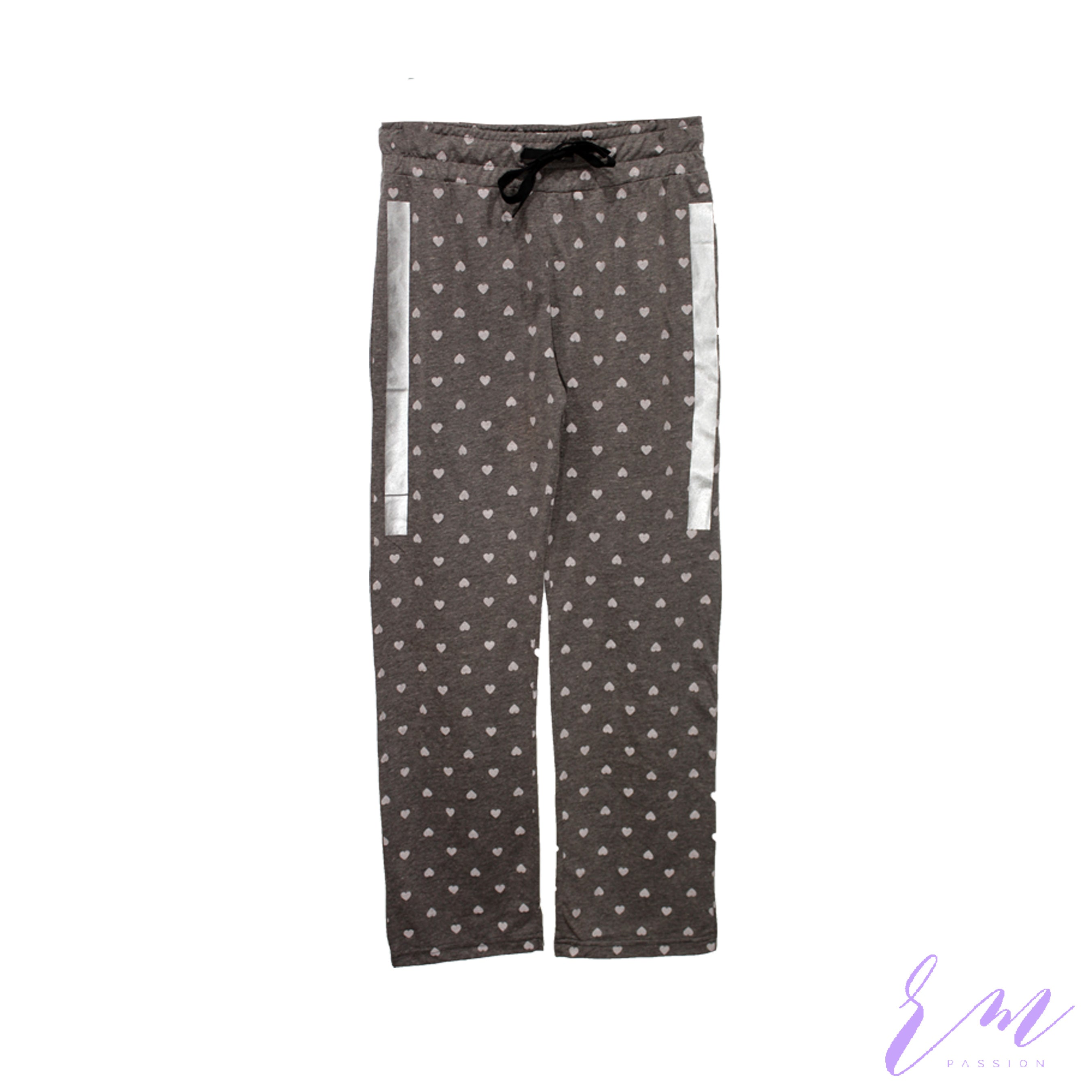 Heart printed trouser