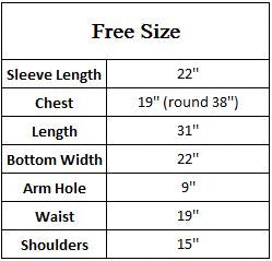 Freesize top Rm-19