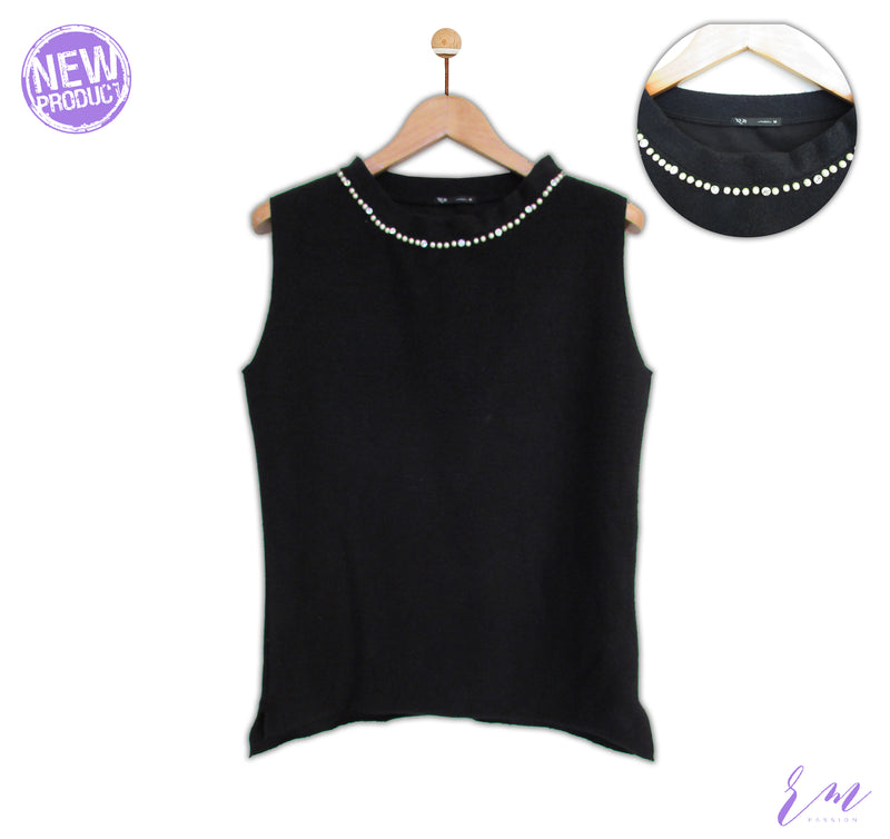 Rm New 02 ( Pearls SLeeveless Hoods)