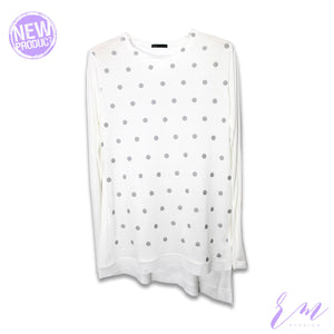 Freesize polka dot top