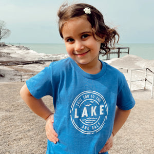 "Kid's ""Love You to the LAKE and Back"" Tee"