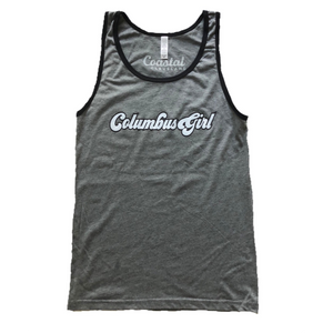 Columbus Girl Unisex Cut Tank