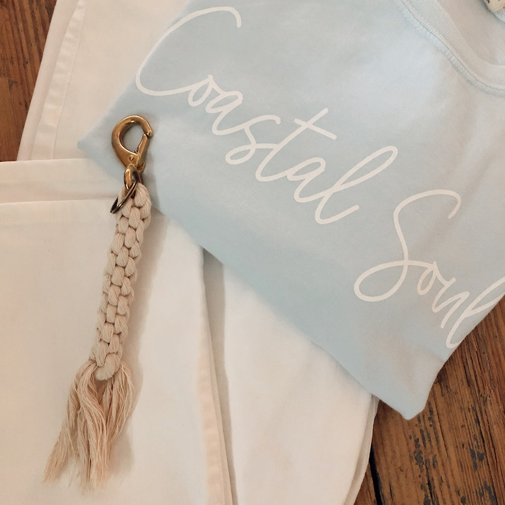 Coastal Key Ring