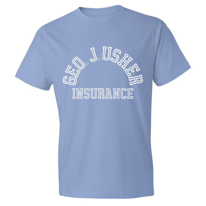 George J. Usher Tee - light blue